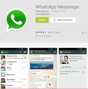 watts app